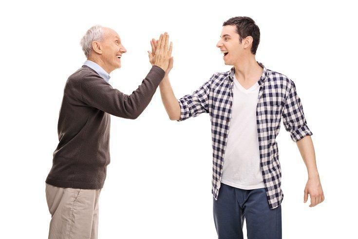 Cada abuelo debe decidir exactamente dónde dibujar la línea de los límites