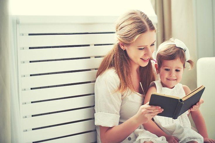 Leer juntos como familia puede inculcar el amor por los libros desde una edad temprana