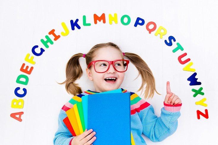 Pide a tu hijo que lea una oración en voz alta con un punto