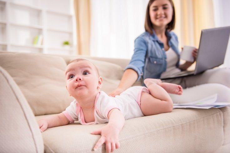 Todas las madres son capaces de hacer cosas muy rápido