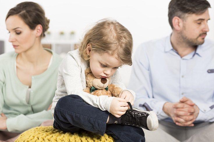 Los niños cuando sus padres se divorcian no entienden ni saben lo que ocurre