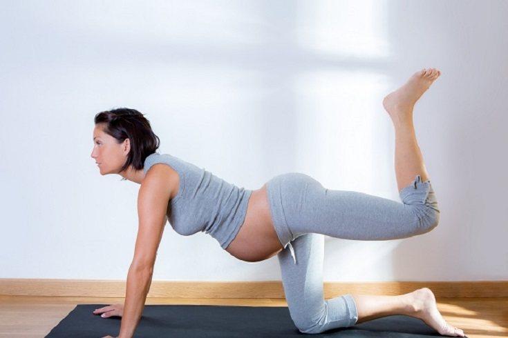 Puedes ponerte en forma para el parto al incorporar estiramientos específicos de cadera