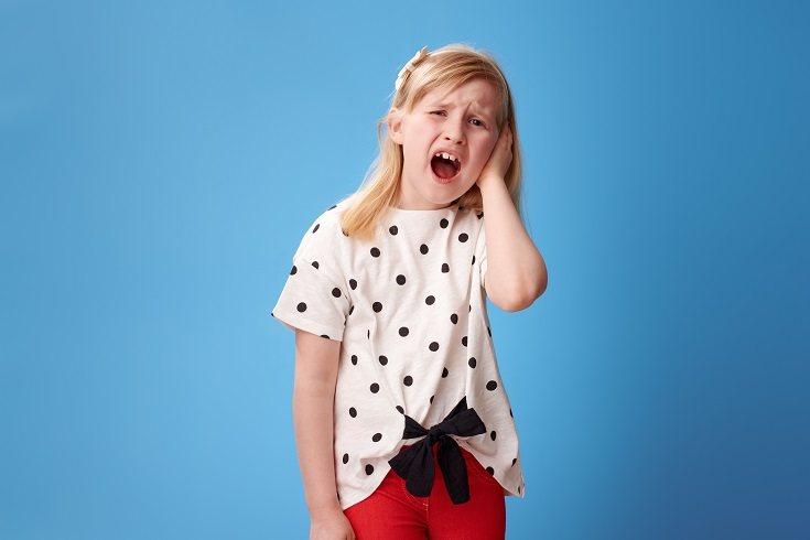 El dolor de oído suele ocurrir a menudo en la infancia
