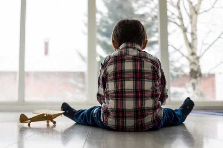Una explosión de enfado e ira de un niño de 7 años puede ser realmente intenso