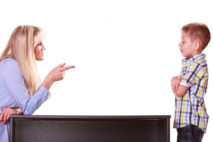Los padres abusivos a menudo atacan cuando están enfadados