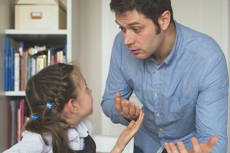 La forma en que un padre disciplina afecta mucho el comportamiento de sus hijos