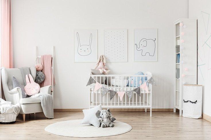 El diseño del dormitorio de tu bebé es muy importante