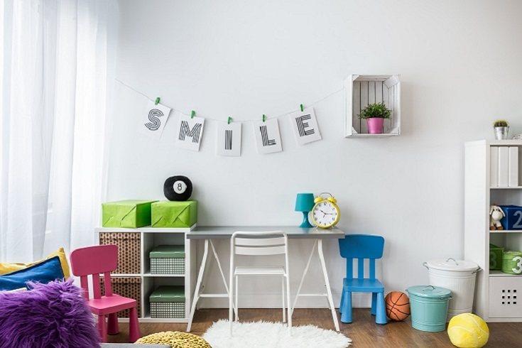 La habitación de un niño es su refugio seguro
