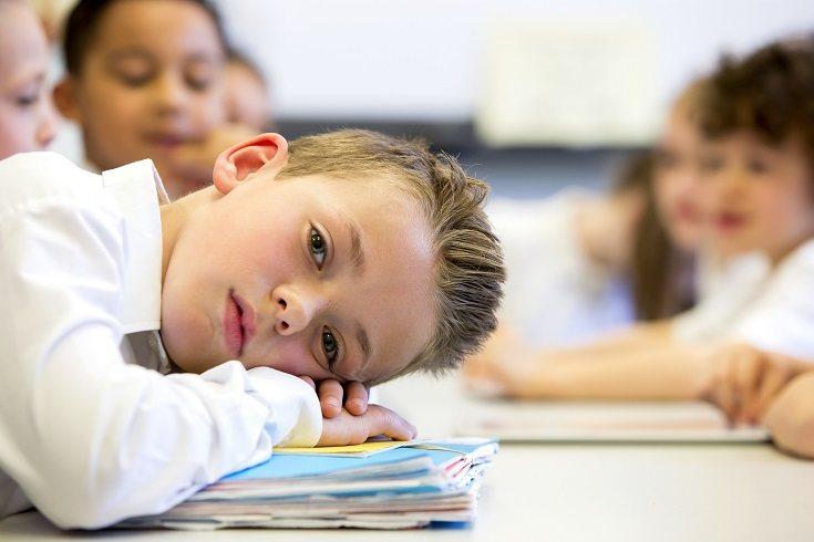 Los niños experimentan cansancio de vez en cuando