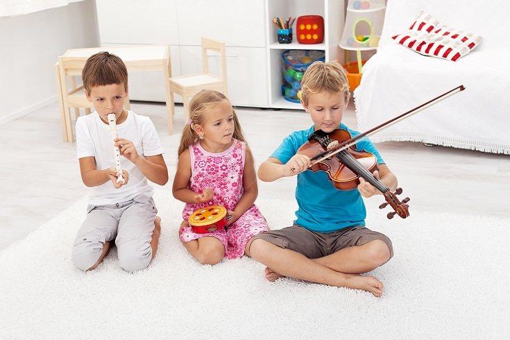 Es posible que el niño haya encontrado una actividad que le guste