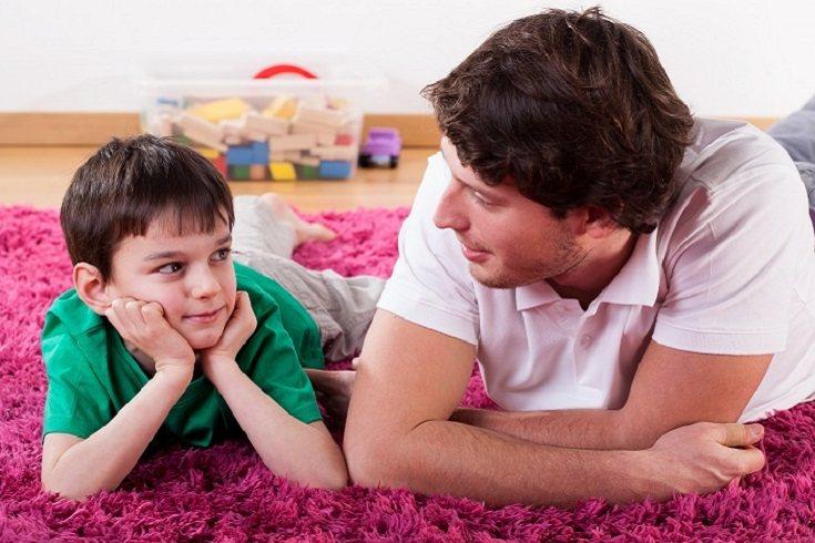 Los niños deben crecer en el seno de un hogar lleno de respeto, tolerancia y amor