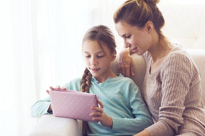 Los niños más pequeños deben tener totalmente limitado el uso de la Tablet