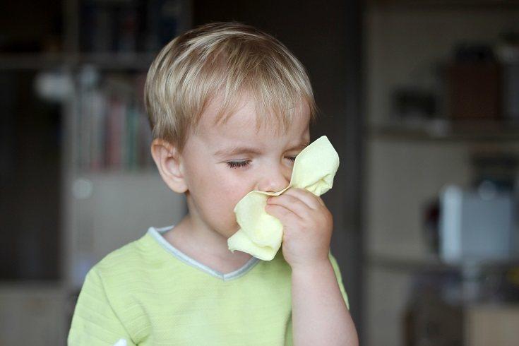 El resfriado es la afección más habitual y común en los niños