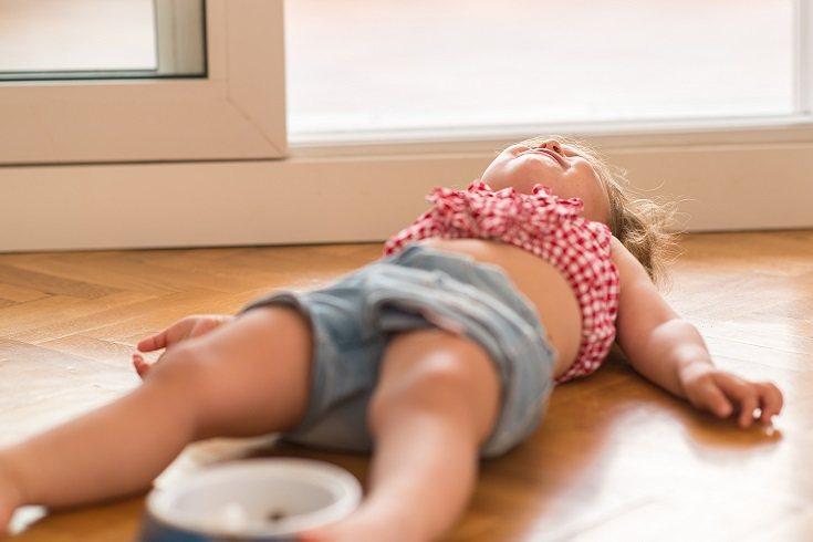 Si el niño no entra en ningún momento en razón, hay que evitar los nervios