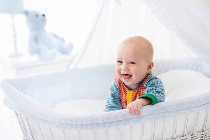 Es muy importante que si a tu bebé de 1 año le cuesta dormirse, mantengas la calma