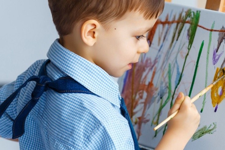El dibujo infantil produce placer a nivel motor y psicológico