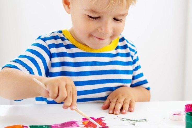 La pintura infantil es la primera experiencia gráfica de la infancia