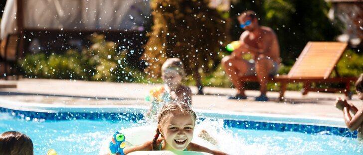 El peligro de ahogamiento en los niños