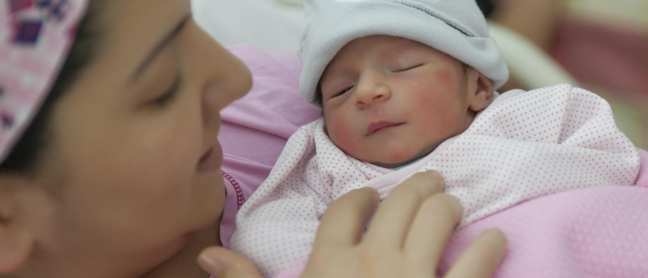 Las primeras horas de vida del bebé