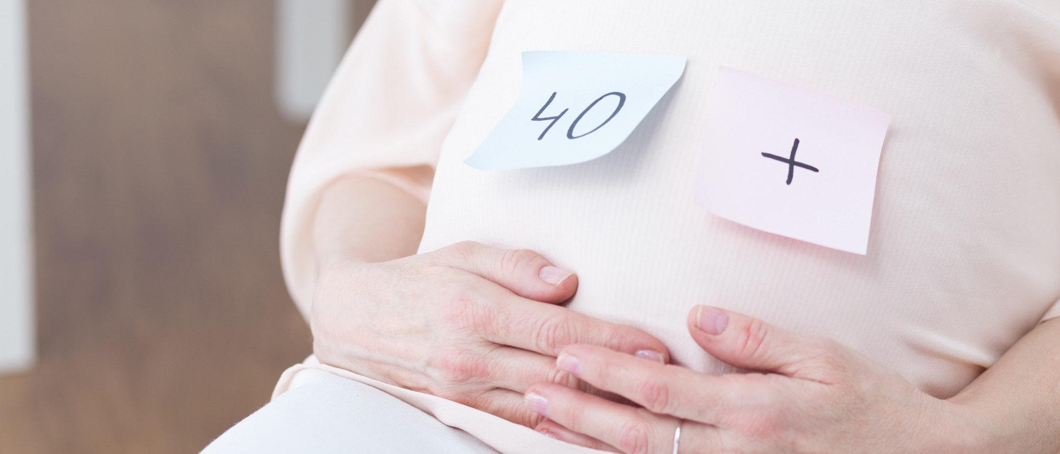 Ser madre a los 40: ventajas y riesgos