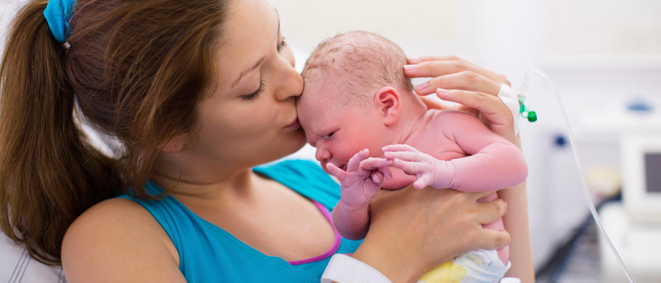 El parto por cesárea