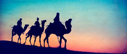 La historia de los Reyes Magos para niños