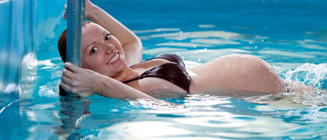 Natación y piscina en el embarazo