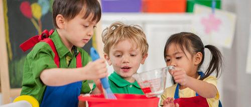 5 recetas que podemos cocinar con niños