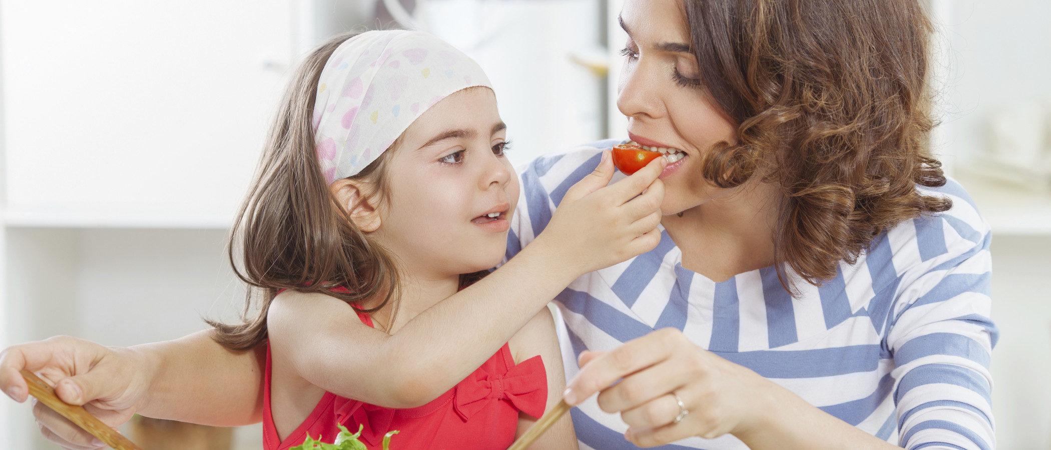 ¿Pueden los niños ser vegetarianos como sus padres?