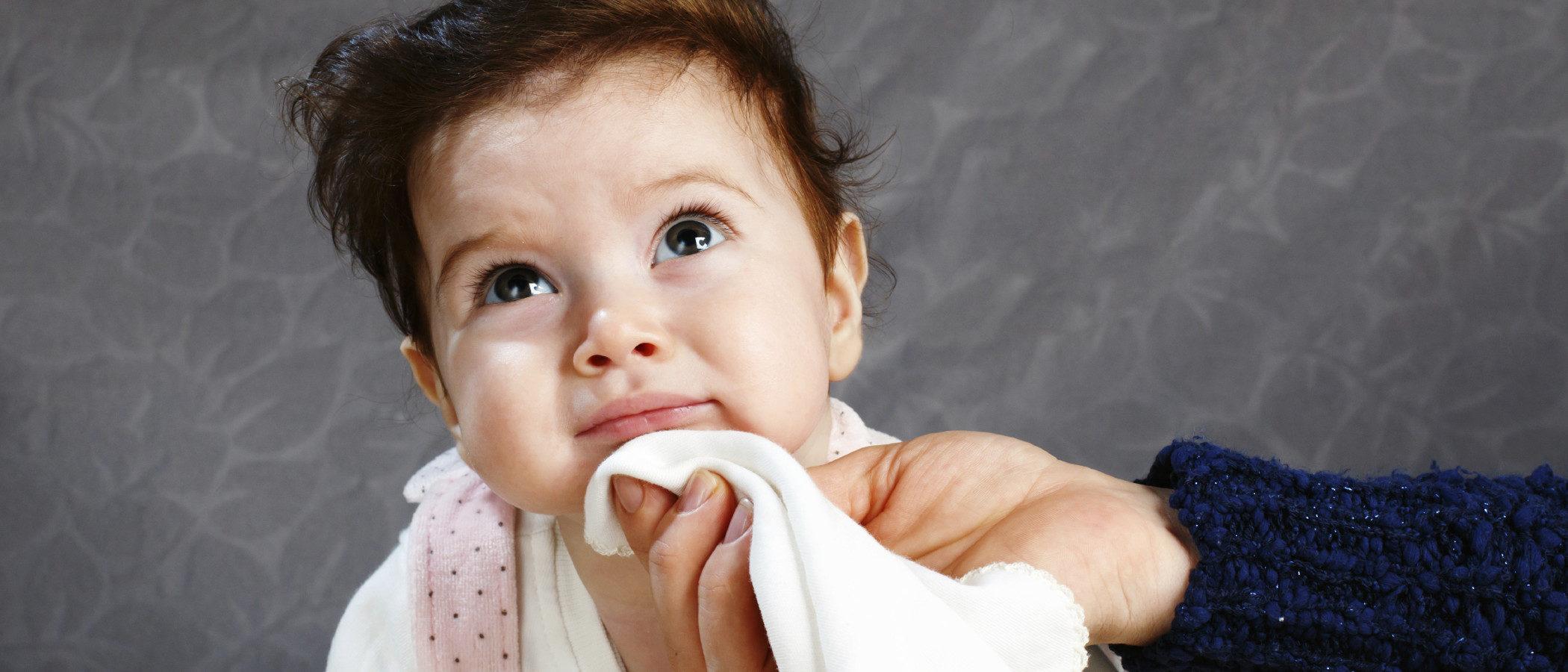 El exceso de babeo en el bebé, ¿es normal?