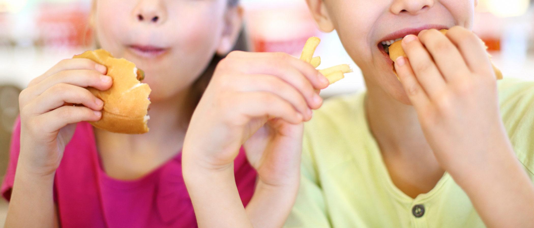 Comidas que debemos controlar en los niños