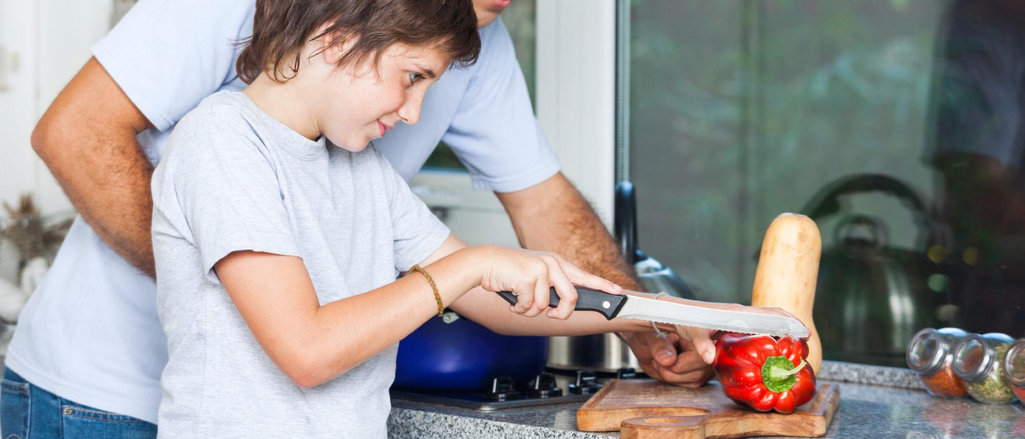 Platos vegetarianos para preparar con niños