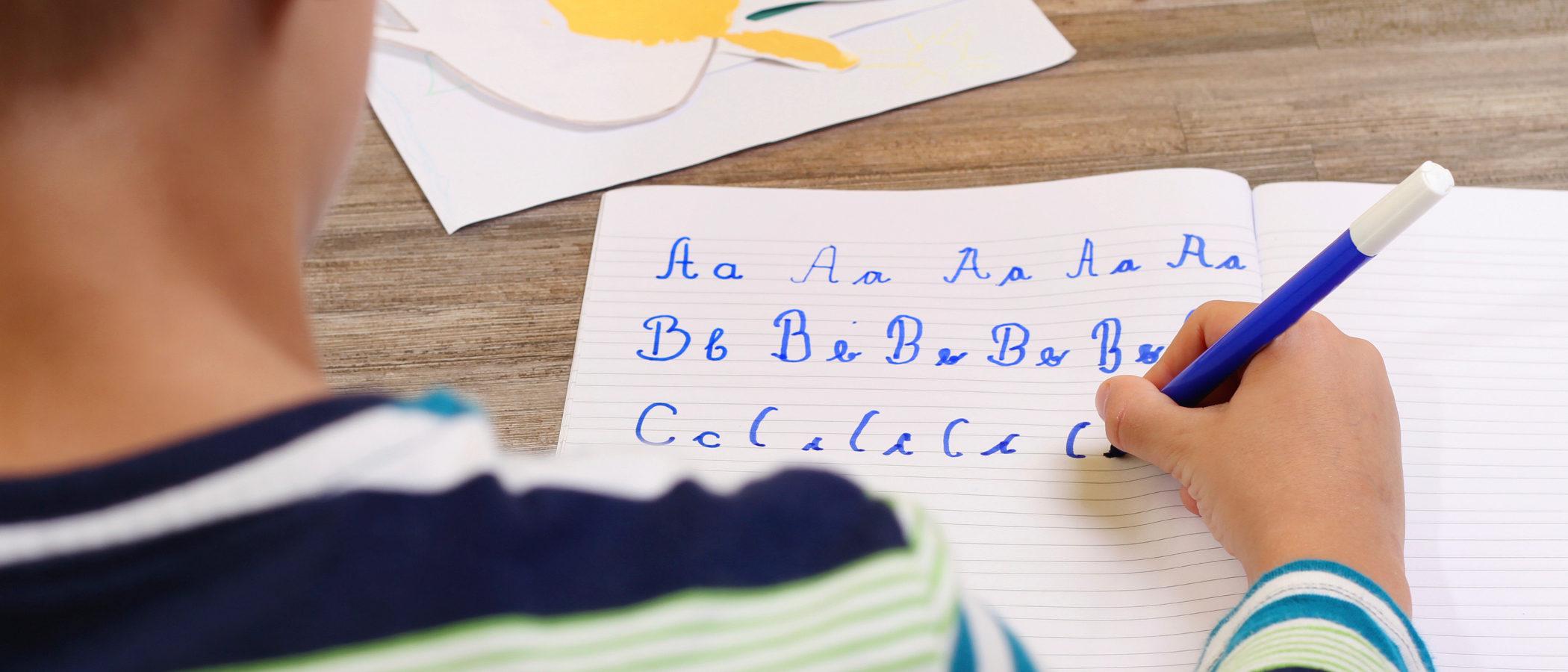 Cómo tratar los problemas de escritura en casa