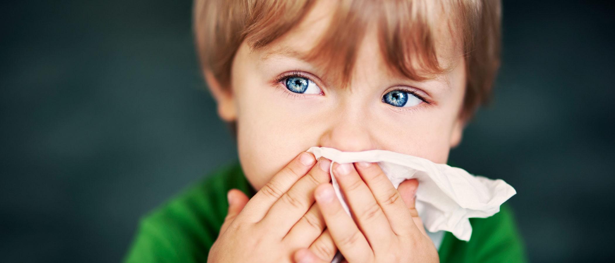La alergia al polvo en niños y niñas
