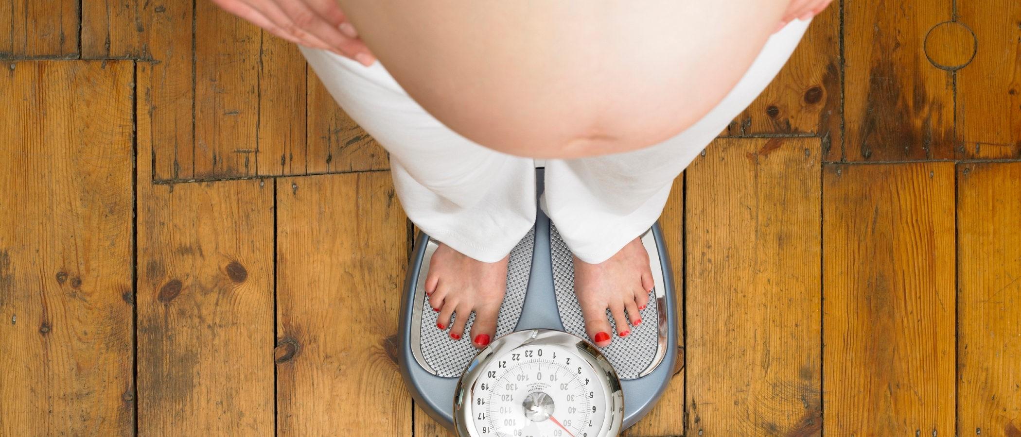 Aumento de peso durante el embarazo, ¿cuándo es demasiado?