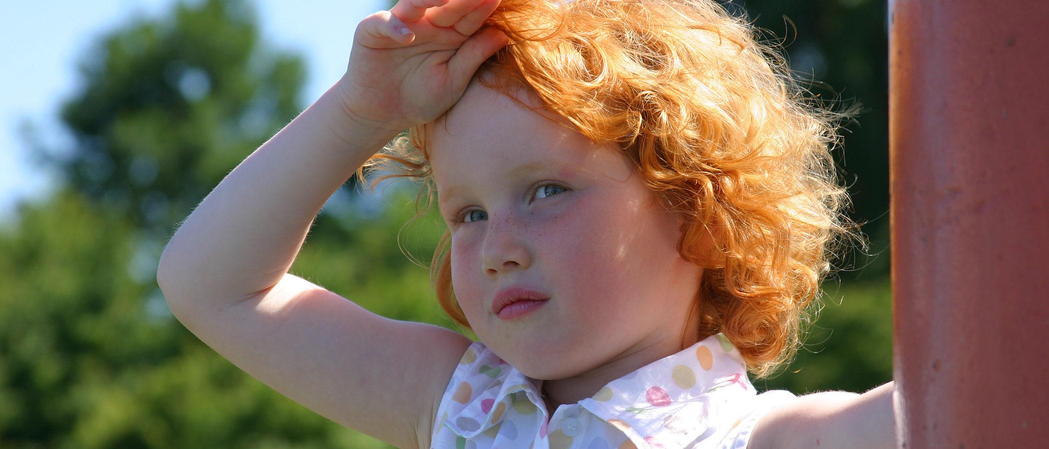 Qué hacer si un niño sufre una insolación