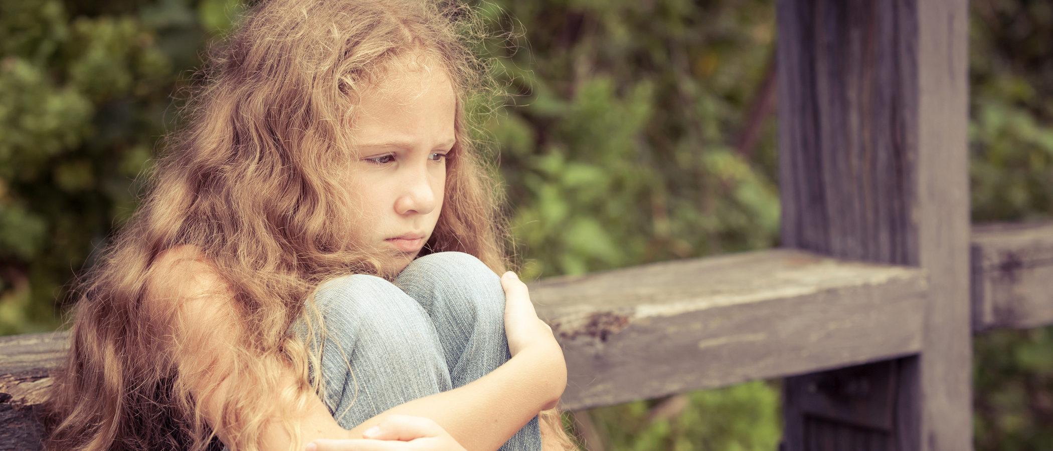 Cuando los niños tienen miedos y preocupaciones que no son normales en su edad