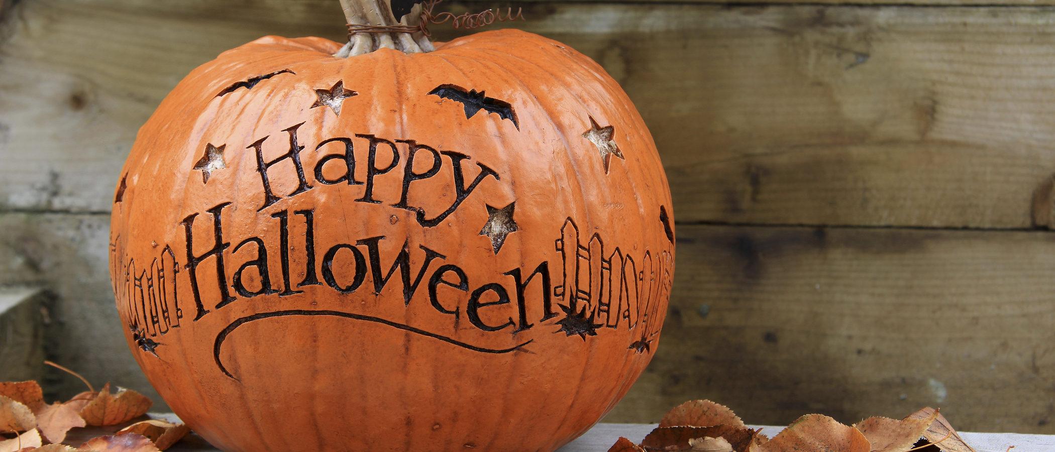 Cómo decorar una calabaza de Halloween con niños paso a paso