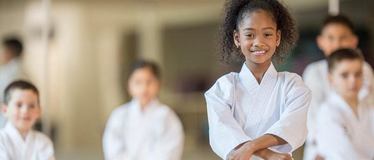 Por qué son beneficiosas las artes marciales en niños