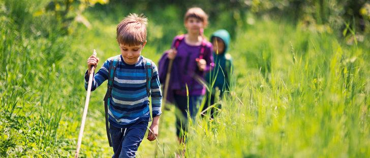 Senderismo con niños, lo que debes y lo que no debes hacer
