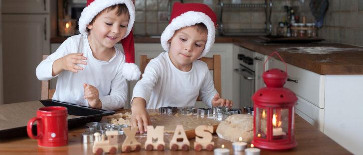 Recetas de Navidad para cocinar con niños