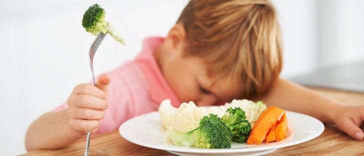 ¿Por qué a los niños no les gusta la verdura?