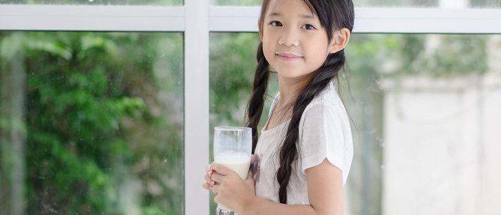 ¿Puedo alimentar a los niños con leche vegetal en vez de animal?