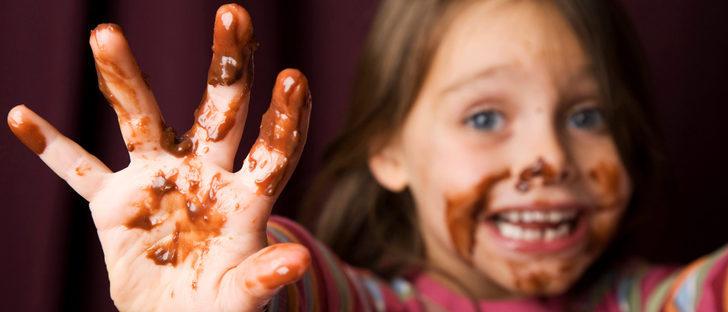 ¿Cuánto chocolate pueden comer los niños?