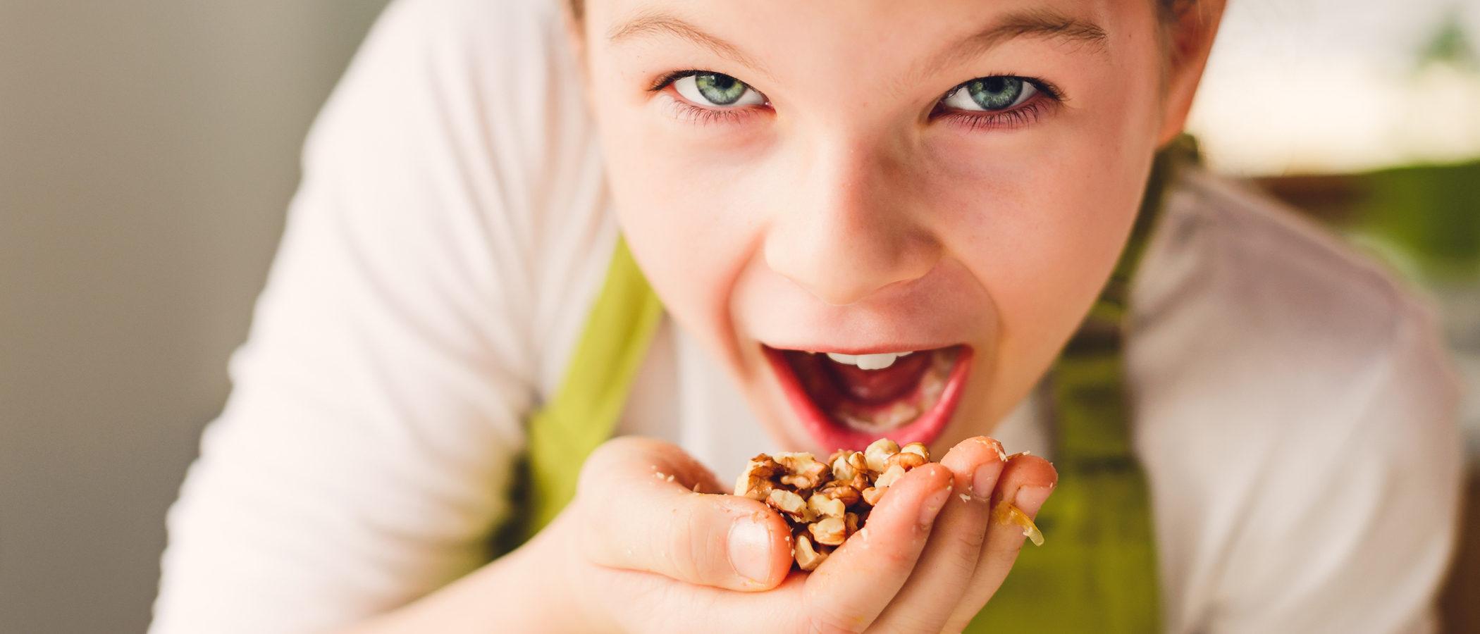 ¿Pueden comer frutos secos los niños pequeños?