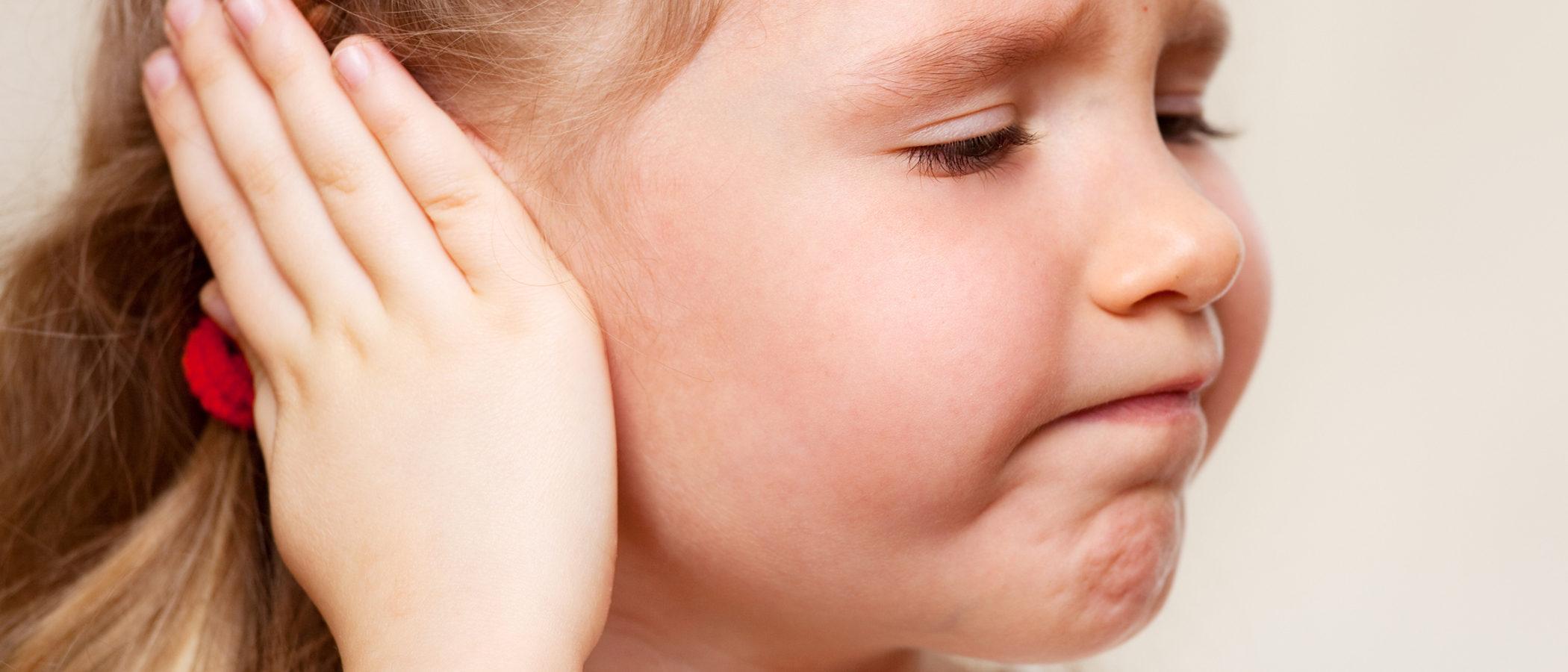 La otitis o infección de oído en niños
