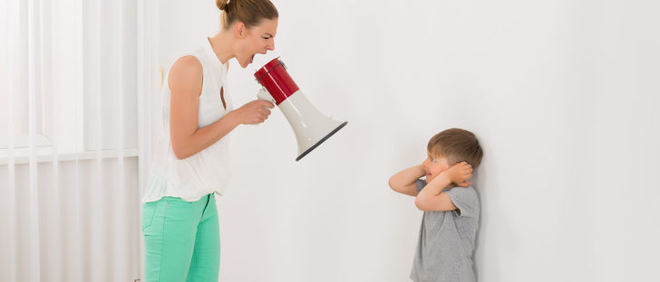 Sí gritas a tus hijos el problema eres tú y no ellos
