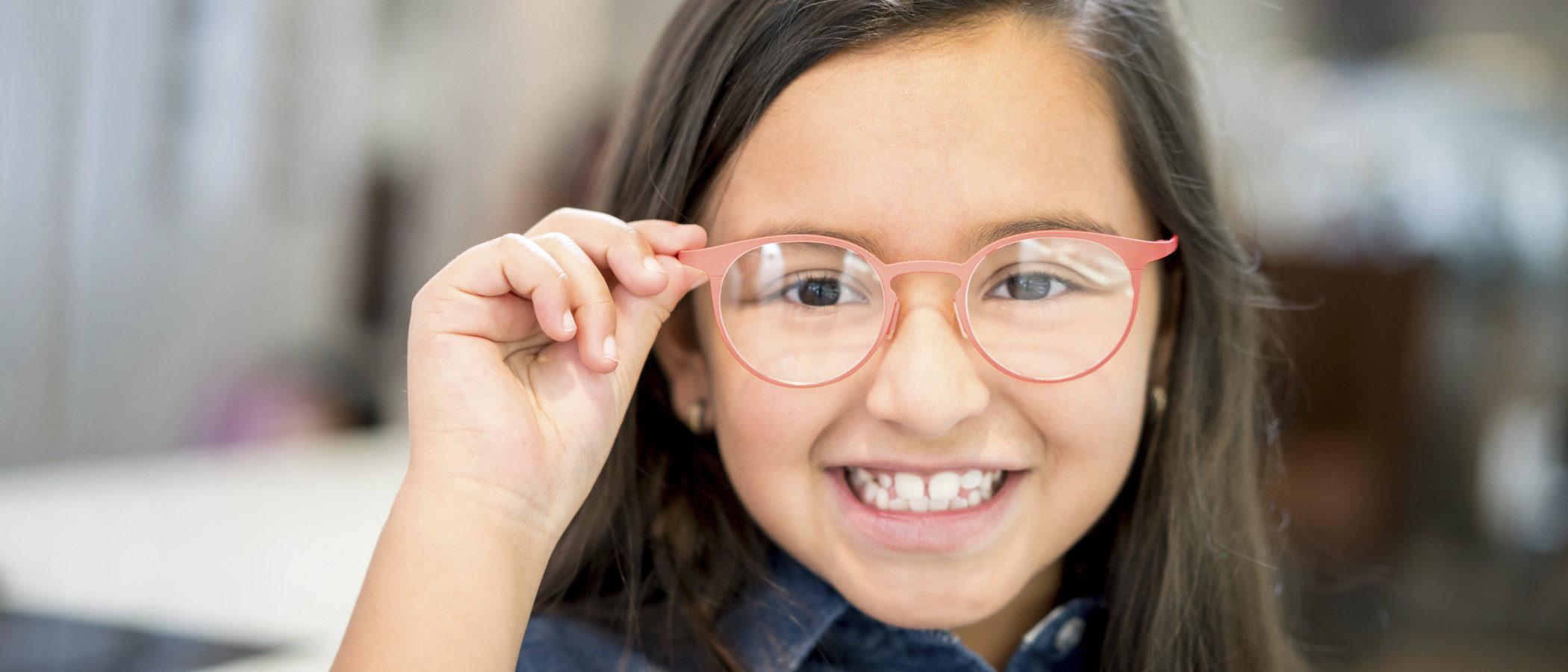 Los problemas de visión en los niños