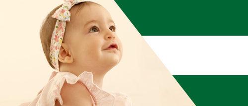 Los nombres de bebé más comunes en Andalucía