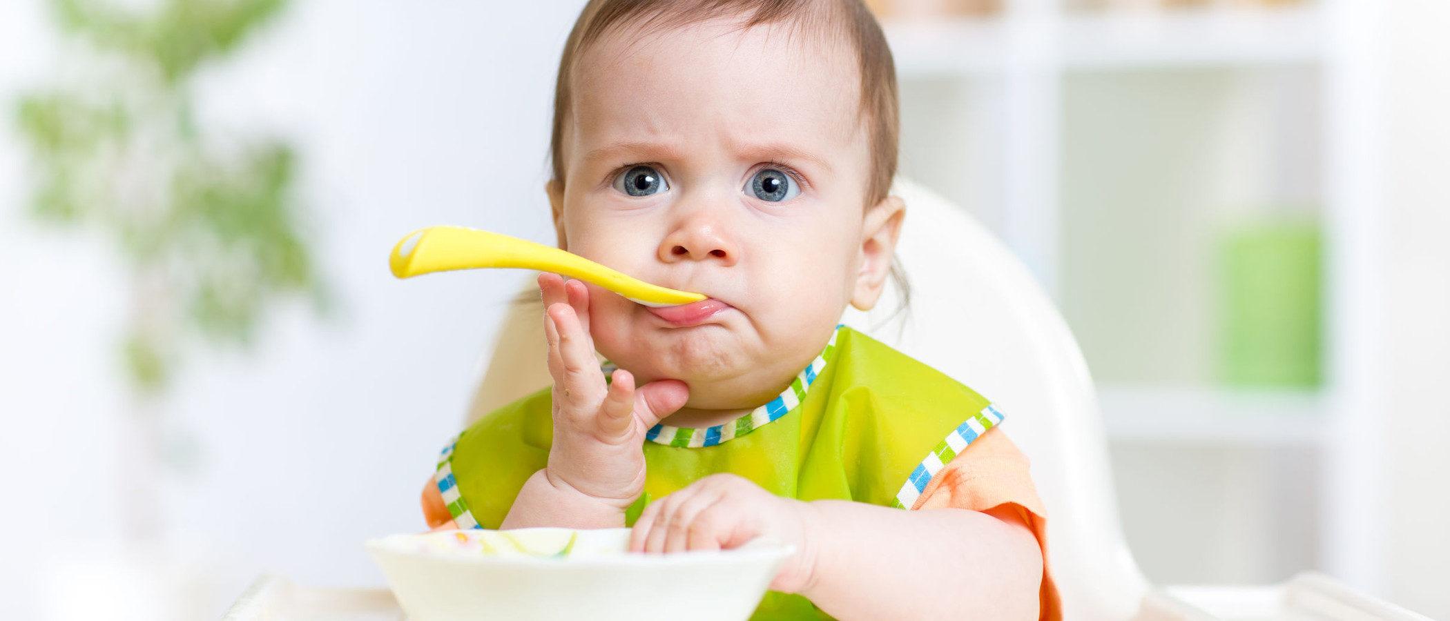 La alimentación del bebé de 9 meses
